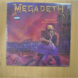 MEGADETH - PEACE SELLS... BUT WHO´S BUYING - LP