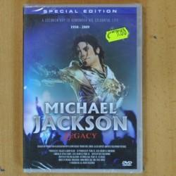 MICHALE JACKSON - LEGACY - DVD
