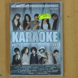 VARIOS - LO MEJOR DEL KARAOKE 2008 VOL 2 - DVD