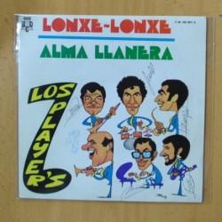 LOS PLAYERS - LONXE LONXE / ALMA LLANERA - SINGLE