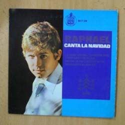 RAPHAEL - CANTA LA NAVIDAD LA CANCION DEL TAMBORILERO + 3 - EP
