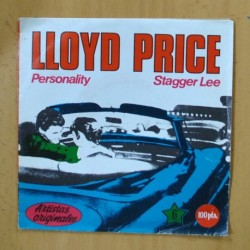 LLOYD PRICE - PERSONALITY / STAGGER LEE - SINGLE