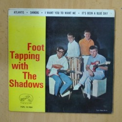 THE SHADOWS - FOOT TAPPING - ATLANTIS + 3 - EP