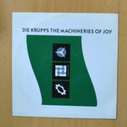 DIE KRUPPS - THE MACHINERIES OF JOY - PROMO - SINGLE