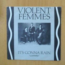 VIOLENT FEMMES - IT´S GONNA RAIN - SINGLE