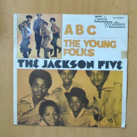 THE JACKSON FIVE - ABC / THE YOUNG FOLKS - SINGLE