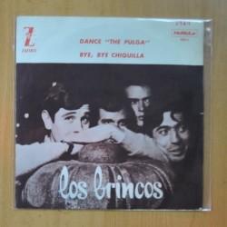 """LOS BRINCOS - DANCE """" THE PULGA """" / BYE, BYE CHIQUILLA - SINGLE"""