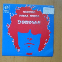 DONOVAN - COLOURS / DONNA DONNA - SINGLE