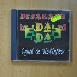 DESAKATO DADA - IGUAL DE DISTITNOS - CD