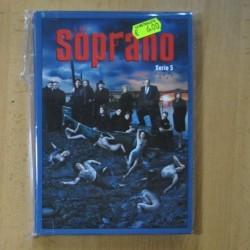 LOS SOPRANO - SERIE 5 - DVD