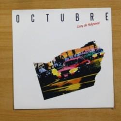 OCTUBRE - LA DONA DE GEL / NIT DE CALOR - SINGLE
