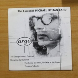 MYCHAEL NYMAN BAND - WATER DANCES / DROWNING BY NUMBERS - SINGLE