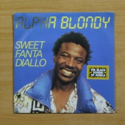 ALPHA BLONDY - SWEET FANTA DIALLO - SINGLE