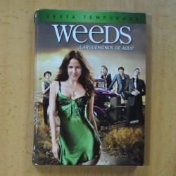 WEEDS - SEXTA TEMPORADA - DVD