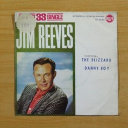 JIM REEVES - THE BLIZZARD / DANNY BOY - SINGLE