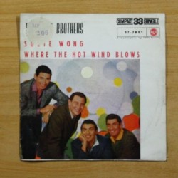 THE AMES BROTHERS - SUZIE WONG / WHERE THE HOT WIND BLOWS - SINGLE