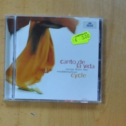 CYCLE - CANTO DE LA VIDA - CD