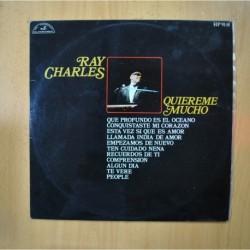RAY CHARLES - QUIEREME MUCHO - LP