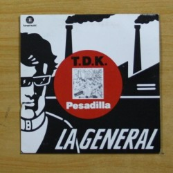 T D K - PESADILLA - SINGLE