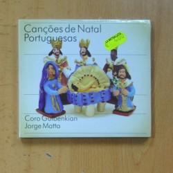 CORO GULBENKIAN - JORGE MATTA- CANÇOES DE NATAL PORTUGUESAS - CD