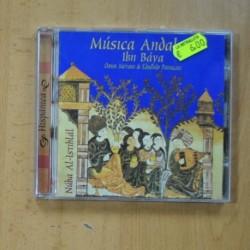IBN BAYA , OMAR METIOUI & EDUARDO PANIAGUA - MUSICA ANDALUSI - CD