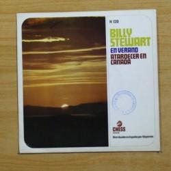 BILLY STEWART - EN VERANO / ATARDECE EN CANADA - SINGLE