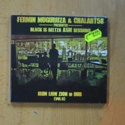 FERMIN MUGURUZA & CHALART58 - BLAK IS BELTZA ASM SESSIONS - IRUN LION ZION IN DUB VOL II - CD