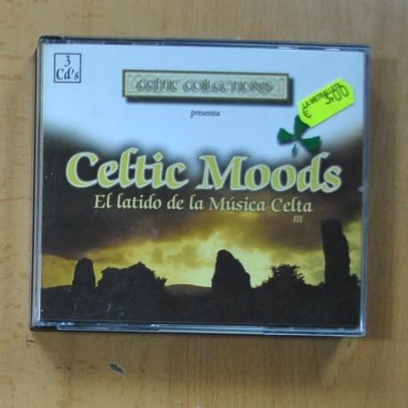 CELTIC MOODS - EL LATIDO DE LA MUSICA CELTA - 3 CD
