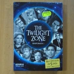 THE TWILIGHT ZONE - TEMPORADA 1 - DVD