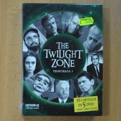 THE TWILIGHT ZONE - TEMPORADA 3 - DVD