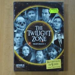 THE TWILIGHT ZONE - TEMPORADA 5 - DVD