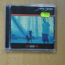 7 NOTAS 7 COLORES - HECHO ES SIMPLE - CD