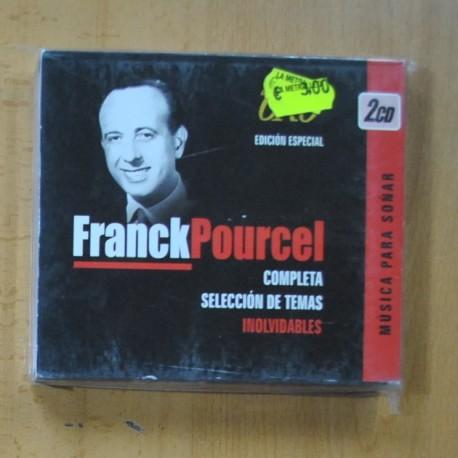 FRANCK POURCEL - COMPLETA SELECCION DE TEMAS INOLVIDABLES - 2 CD