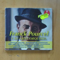 FRANCK POURCEL Y SU GRAN ORQUESTA - FRANCK POURCEL - 2 CD