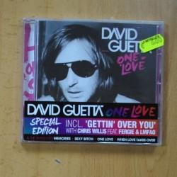 DAVID GUETTA - ONE LOVE - CD