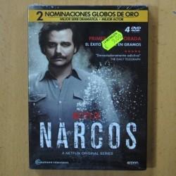 NARCOS - PRIMERA TEMPORADA - DVD