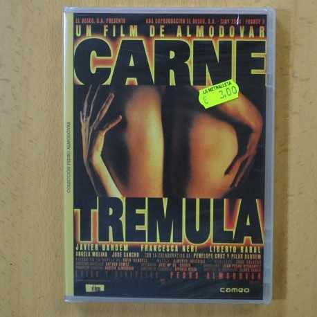 CARNE TREMULA - DVD