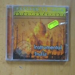VARIOS - INSTRUMENTAL INDIA - CD