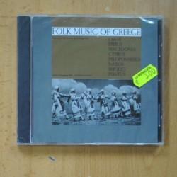 VARIOS - FOLK MUSIC OF GREECE - CD