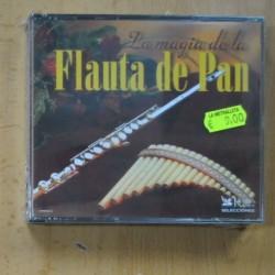 VARIOS - LA MAGIA DE LA FLAUTA DE PAN - 3 CD