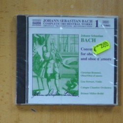 BACH - CONCERT FOR OBOE AND OBOE D´AMORE - CD