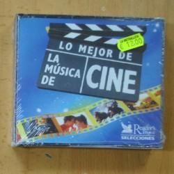 VARIOS - LO MEJOR DE LA MUSICA DE CINE - CD