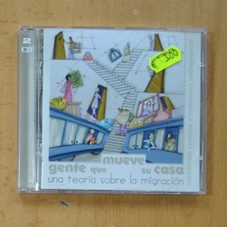 VARIOS - GENTE QUE MUEVE SU CASA - 2 CD