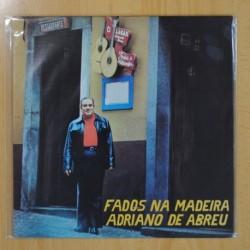 ADRIANO DE ABREU - FADOS NA MADEIRA - LP