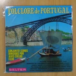 ALVES CHOELHO FILHO - FOLCLORE DE PORTUGAL - LP