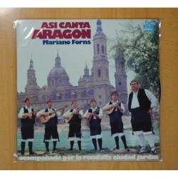 MARIANO FORNS - ASI CANTA ARAGON - LP