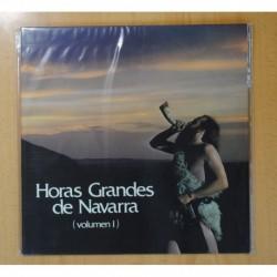 VARIOS - HORAS GRANDES DE NAVARRA VOLUMEN 1 - GATEFOLD - LP