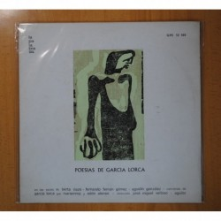 VARIOS - POESIAS DE GARCIA LORCA - LP
