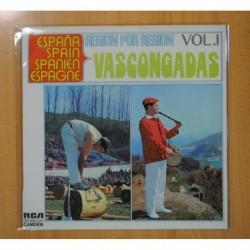 VARIOS - REGION POR REGION VOL 1 VASCONGADAS - LP