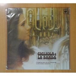 GIGLIOLA CINQUETTI Y LA BANDA - COMPAGNIA DI SUONARI CON VOCE SOLISTA - LP